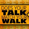 Does your talk match your walk Icon