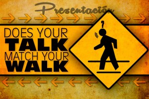 Does your talk match your walk Presentation Link